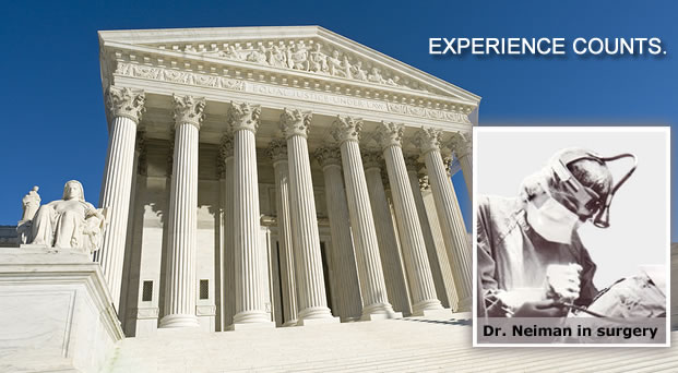 Dr. Melissa Neiman in Surgery and US Supreme Court